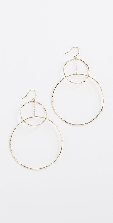 Gorjana Interlocking Hoop Drop Earrings gZ5Z161mb