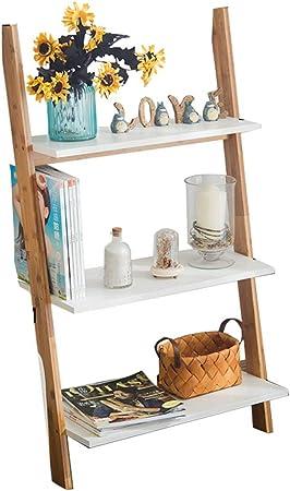 Librería Shelf Bookcase Pared Living Room Dormitorio Bedroom Corner Shelf Storage Rack Trapezoidal
