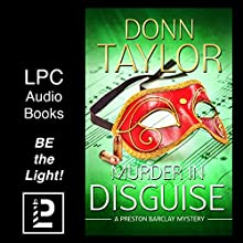 Murder in Disguise: A Preston Barclay Mystery Audiobook by Donn Taylor Narrated by James C. Lewis