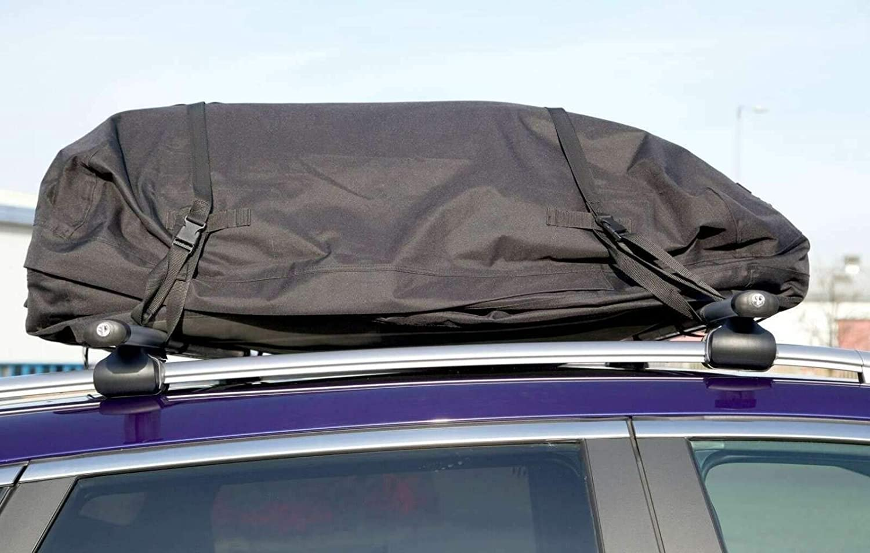 UKB4C Car Roof Rack Cargo Bag Waterproof /& Folding Luggage Carrier Solid Base