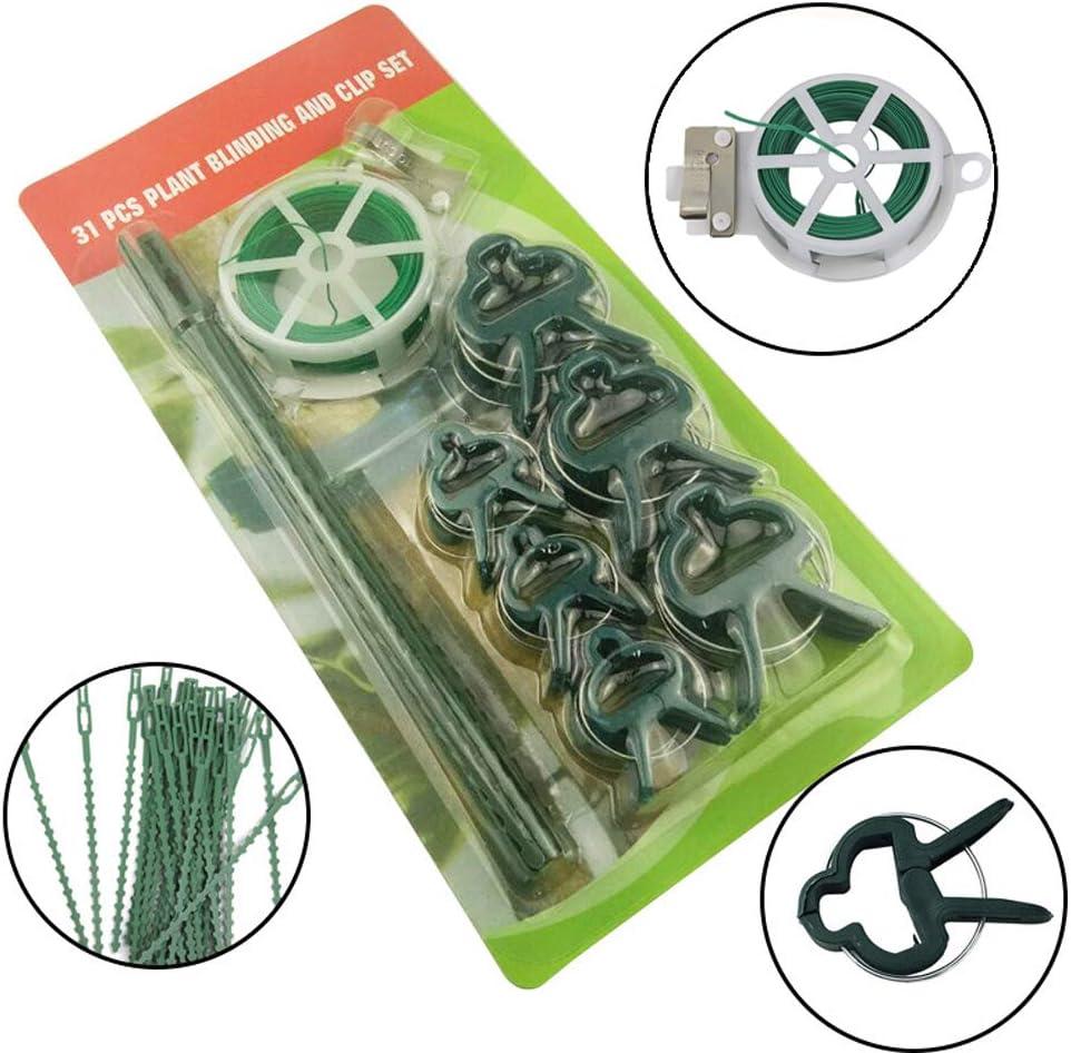 Juego de 31 clips para cegar plantas y clips, clips para plantas ...