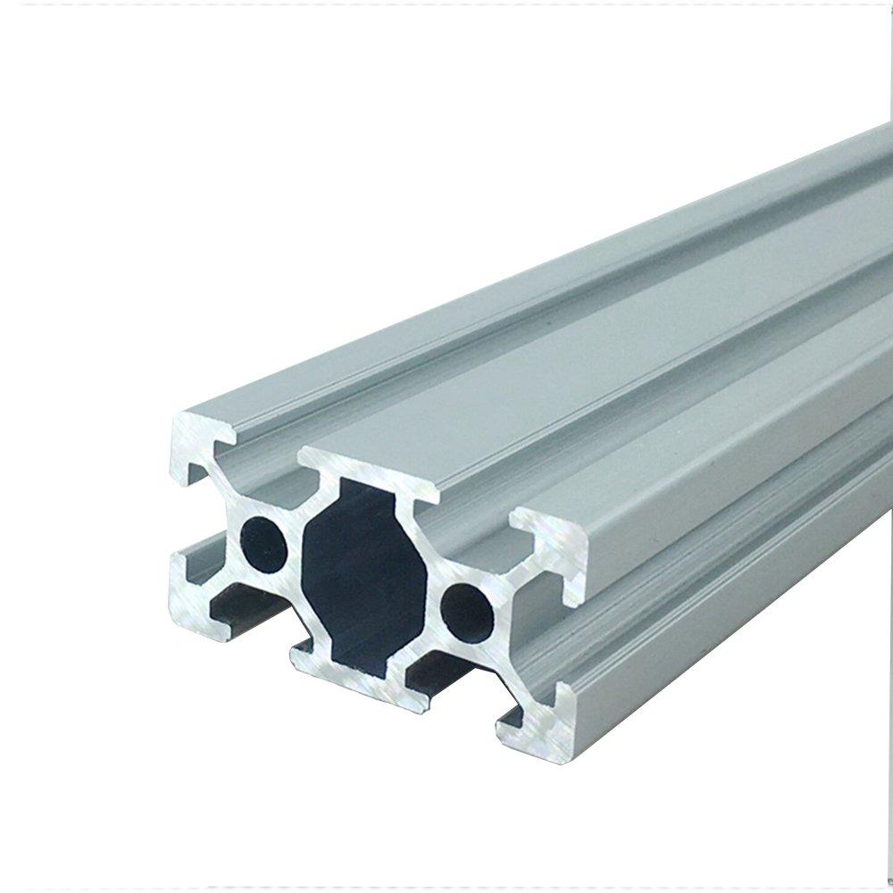 4 piezas 2040 450 mm 17.7 pulgadas estándar europeo lineal riel ...