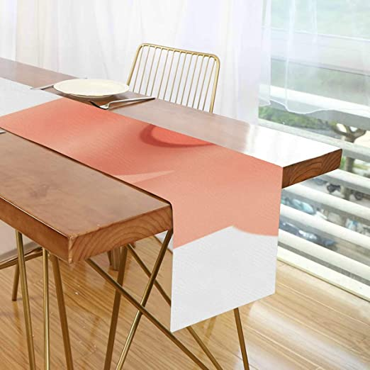 Amazon Com Table Runner Farmhouse Chinese New Year Pig Funny Conference Table Runner Round Kitchen Table Runner For Office Kitchen Dining Wedding Party Home Coffee Table Decor Home Kitchen
