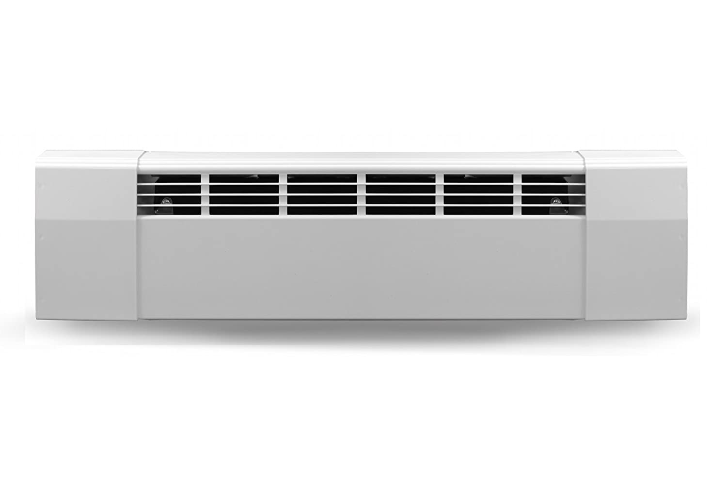 Slant Fin Revital/Line Aluminum Baseboard Heater Cover Complete Replacement Kit with 2 End Caps - Available in Sizes 2-6 Feet - Maximum Heat Output, Brite White
