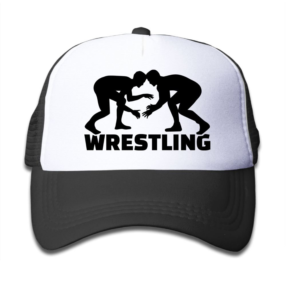 Poii Qon Wrestling Sport Kids' Cotton Adjustable Mesh Baseball Caps Baseball Hat