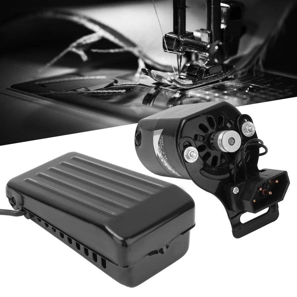 180W Buen Rendimiento de Aislamiento Kit de Pedal de Motor para el hogar Piezas de m/áquina de Coser dom/éstica Focket Juego de Motor de m/áquina de Coser bajo Nivel de Ruido y Rendimiento Estable UE