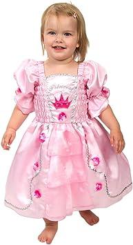Lucy Locket - Disfraz Vestido de Princesa Color Rosa para Bebé (0 ...