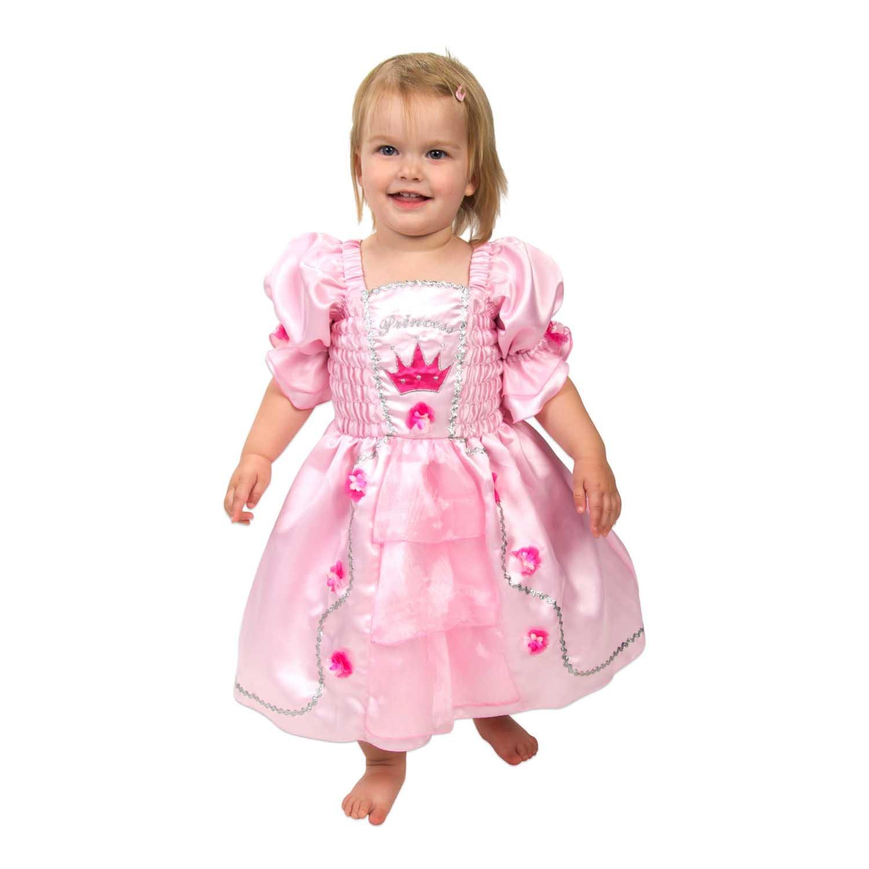Lucy Locket - Disfraz Vestido de Princesa color Rosa para Niña (6 a ...