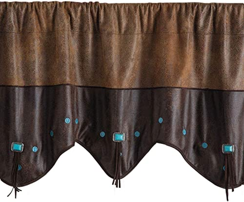 Rod s Exclusive Curved Corner Studded Valance