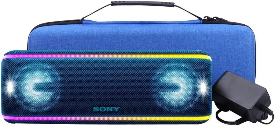 Custodia Rigida elegantstunning Custodia Protettiva per Sony SRS-XB41 SRS-XB440 XB40 XB41 Altoparlante Bluetooth con Particelle Anti-Vibrazione
