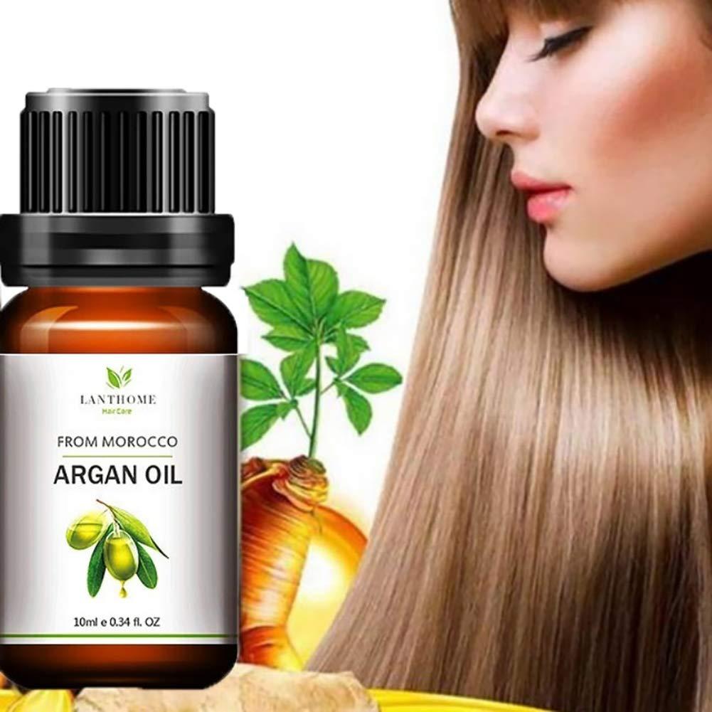 Hair Essence Oil gLoaSublim,10ML Dry Damaged Hair Repair Care Treatment Nourishing Natural Argan Essence Oil