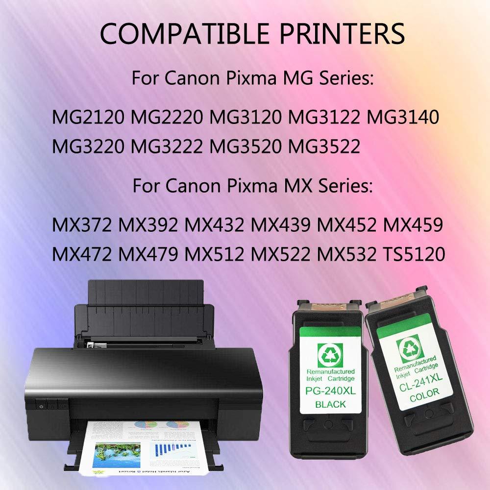 Amazon.com: youuding PG-240 X L CL-241 X L cartucho de tinta ...