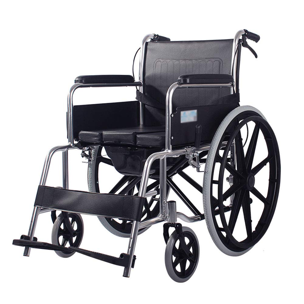 Mrtie Klappbarer Toilettensitz, Behinderte, Älterer Wagen, Schwangeres Mobiles WC, Tragbarer Duschstuhl