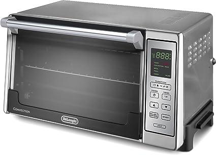 amazon com delonghi do2058 digital convection toaster oven rh amazon com Convection Oven Cooking Convection Rotisserie Toaster Oven