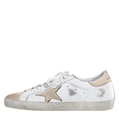 b5e01f9b9a3e Amazon.com | Golden Goose Deluxe Brand Women Sneakers Superstar G31WS590B30  White Leather/Ivory Star (whoosso) | Fashion Sneakers