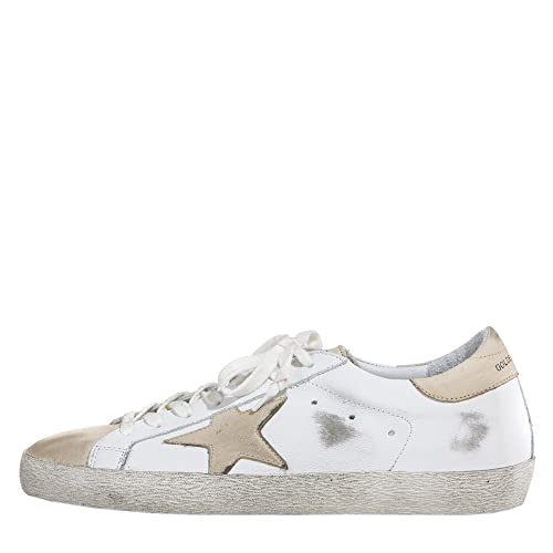 Golden Goose Deluxe Brand Women Sneakers Superstar G31WS590B30 White LeatherIvory Star (whoosso)