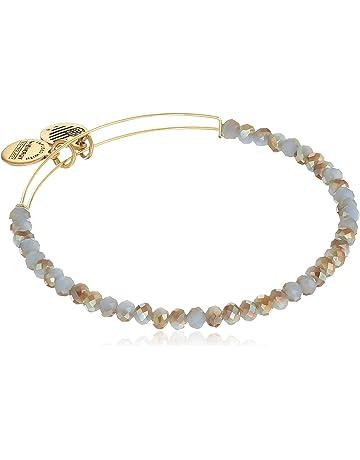 439f12883 Alex and Ani Brilliance Bead Milky Way Light Blue/Shinny Bracelet