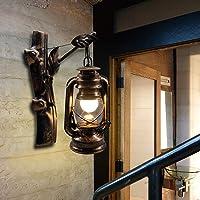 Artpad Apliques de pared industriales, lámpara de queroseno