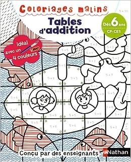 Coloriage Magique Jours Cp.Coloriages Malins Bic Tables D Addition Magiques Cp Ce1