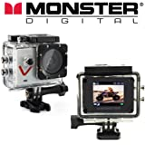 Monster Vision Sport Action Camera 720p 30fps Includes Accessories [CAMVI-0720-A]