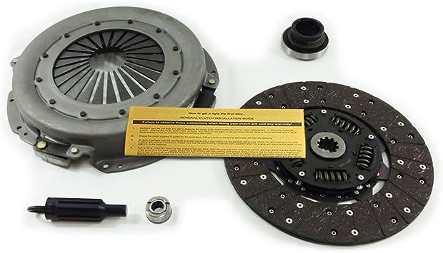 Amazon Com Eft Heavy Duty Clutch Kit For 94 97 Ford F Super Duty 7 3l Turbo Diesel Powerstroke Automotive