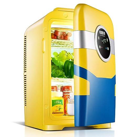 Mini refrigerador, 22 L de capacidad portátil de refrigeración y ...