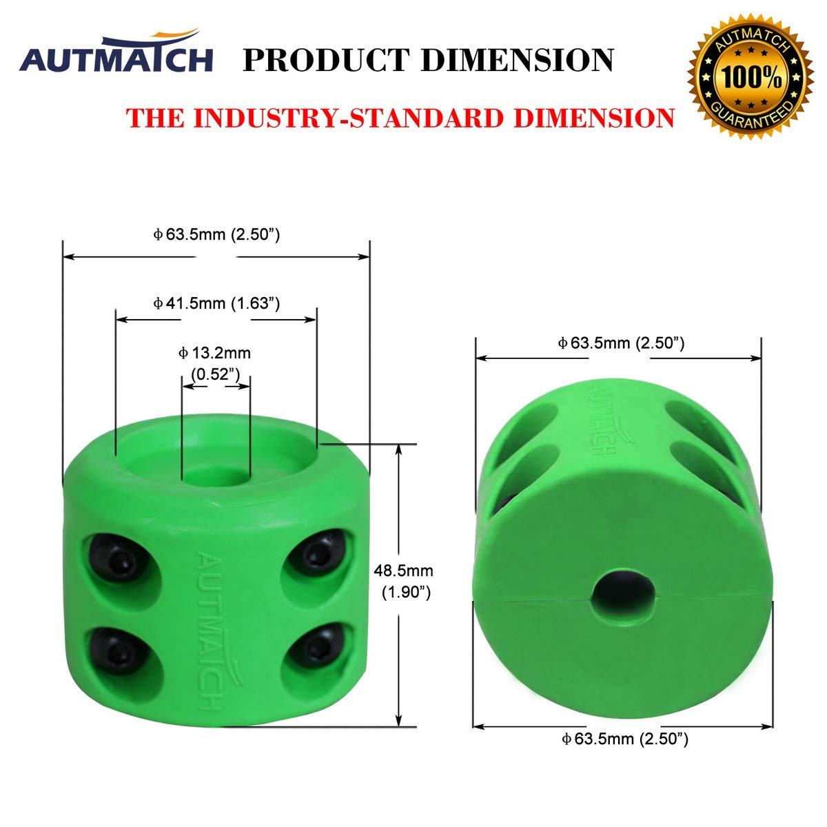 AUTMATCH Winch Cable Hook Stopper 2 Pack Rubber Shock Absorbent Winch Stopper Best Winch Accessories for Wire /& Synthetic Cables ATV Accessories Prevent Pulling Eliminate Abrasion Bouncing Yellow