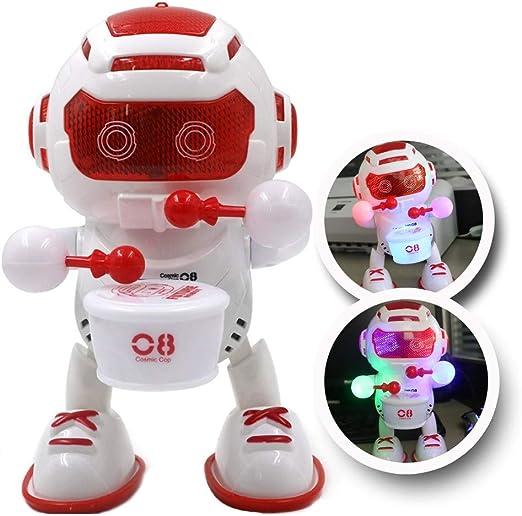 QXYA Drumming Robot De Baile Juguete De Baile Robot Muñeca ...