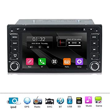 "Double Din 7/"" Car Stereo MP5 TouchScreen for Toyota RAV4 Camry Tundra+Backup Cam"