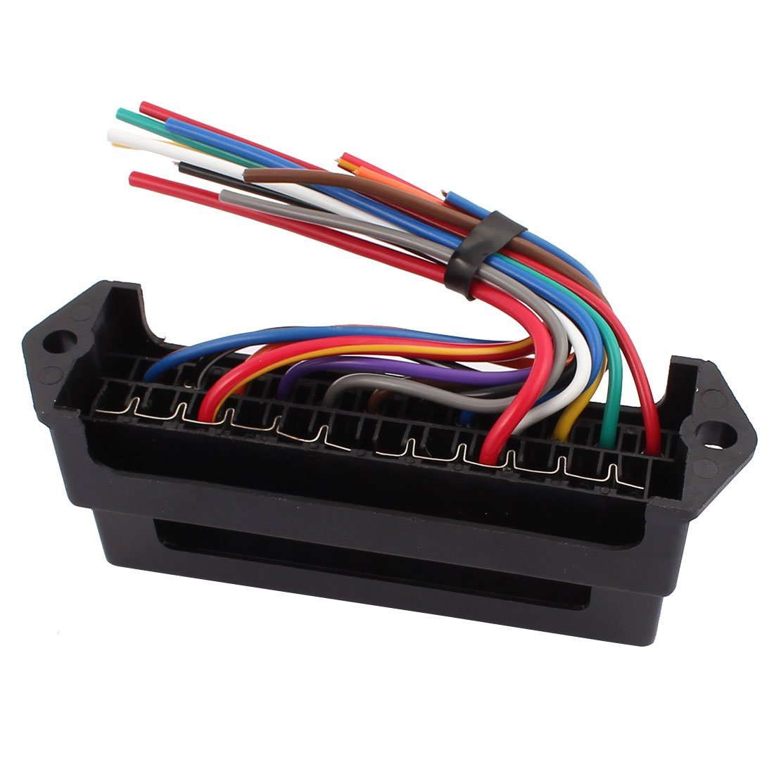 eDealMax HS-0012 12 Road Con Filo modifica di base del blocco Auto Car Fuse Box