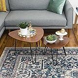 New Hairpin Leg Nesting Coffee Table Set in Walnut Finish