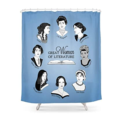 Amazon MAOXUXIN Great Women Of Literature Shower Curtain 60 By