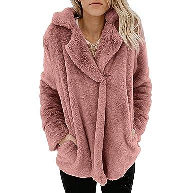POLP Abrigos mujer Largo Invierno Mujer Top de Abrigo de algodón con Capucha y Cuello Alto