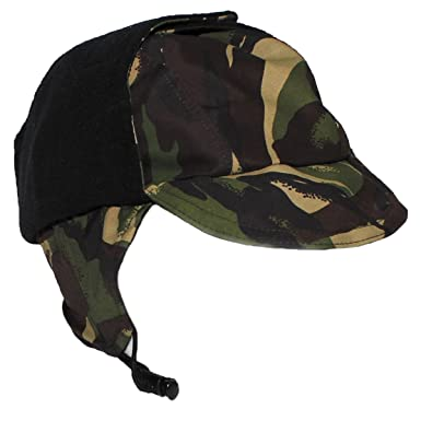 de900a22 VIZ-UK WEAR Genuine British Army DPM Camo Waterproof Gore TEX Hat Lined  Cold Weather Cap Grade 1: Amazon.co.uk: Clothing
