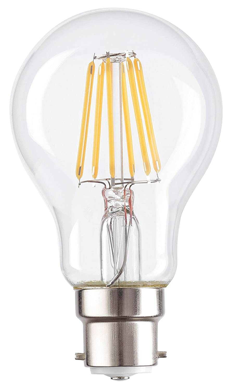 6/Watts Super Basse /énergie classique style globe ampoule b22 6.0 wattsW