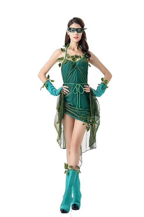 Aida Bz Traje De Halloween Traje De Duende Verde Traje De ...