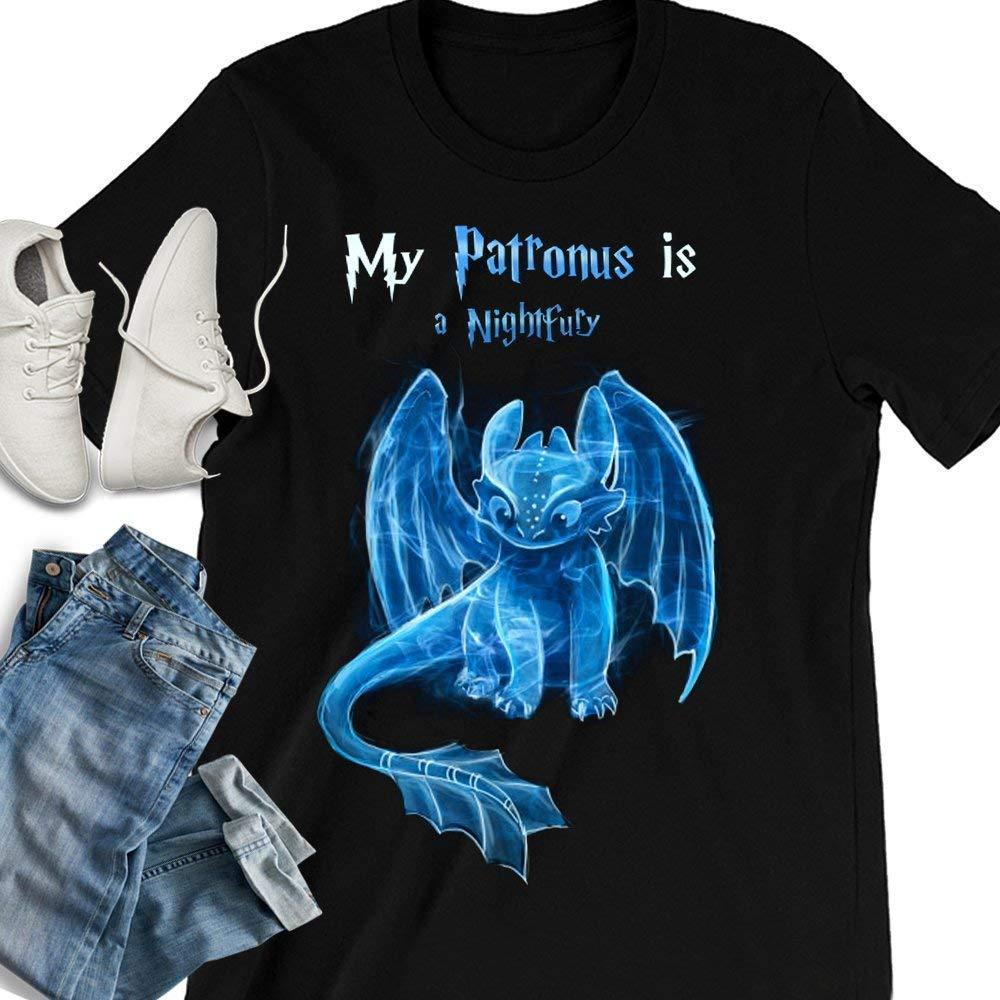 My Patronus Is A Night Fury Dragon Toothless Customized Handmade T-shirt/Hoodie/Sweater/Long Sleeve/Tank Top