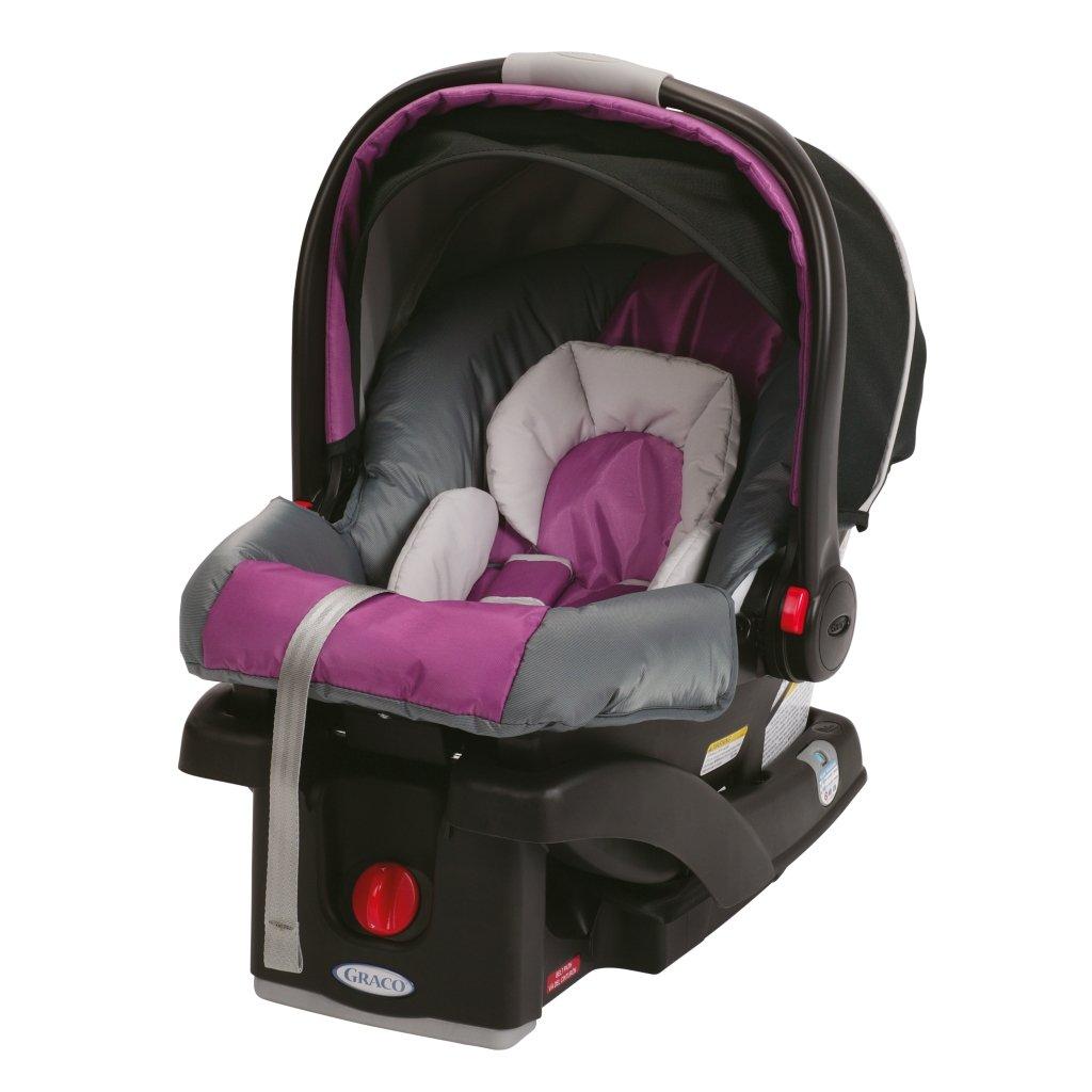 Amazon.com : Graco SnugRide Click Connect 30 Infant Car Seat, Nyssa ...