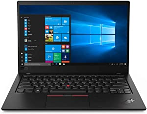 "2020 Lenovo ThinkPad X1 Carbon Gen 7 14"" FHD Business Laptop Computer, 10th Gen Intel Quard-Core i5-10210U, 8GB RAM, 1TB PCIe SSD, USB-C, Windows 10 Pro, BROAGE 64GB Flash Drive, Online Class Ready"