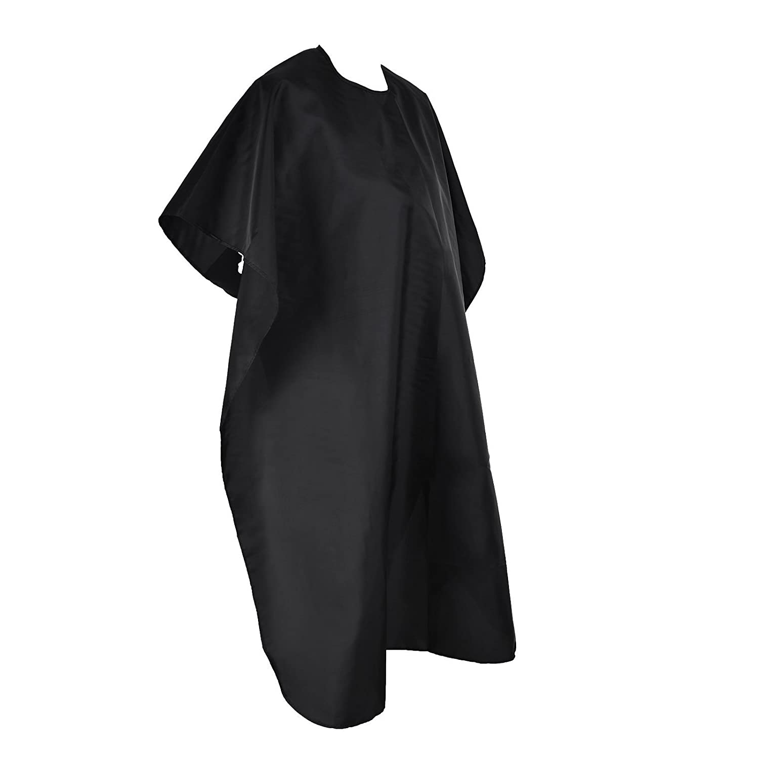 SunTrade Professional Hair Cutting Salon Nylon Cape, Waterproof, 53 x 37, Black 53 x 37 Sun Trade