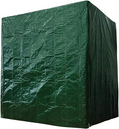 DSGYYK Funda para Columpio de jardín, Tela Oxford 210D Balancín Hollywood Jardín Resistente al Agua Resistente a Rayos UV Cubierta de Hamaca de Silla de Columpio al Aire Libre- Verde,244x145x170cm: Amazon.es: Hogar