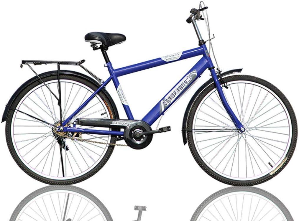 Playmate Mens 26 Inch Bike Fashion Retro Classic Bicycle Frame Good Condition Hybrid Bike Unisex Adult Mountain Bike