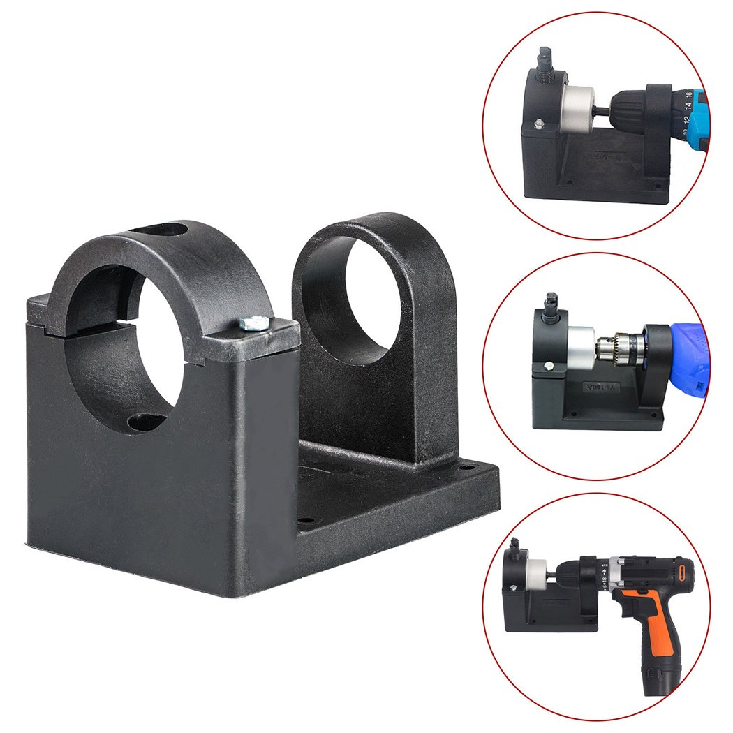 ZYL Double-Headed Nibbler Metal Cutter Holder Holder for Double Head Sheet Metal Nibbler Cutter Drill Tool