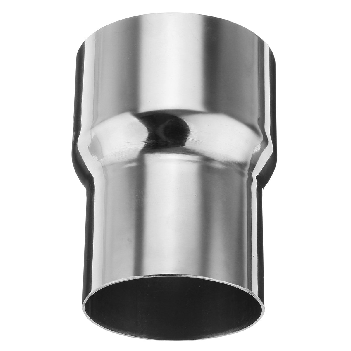 GOZAR 3 Inch To 2.5 Inch OD Stainless Standard Exhaust Pipe Connector Adapter Reducer Tube