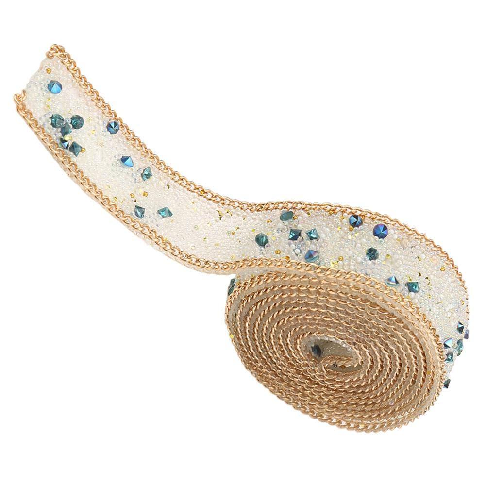#1 Ruban Diamant Strass Rouleau Diamant Strass Support de Chaud Rouleau DIY D/écor 1m Longreur 2cm Largeur