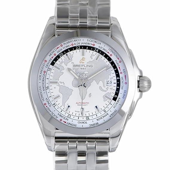 Breitling Galactic automatic-self-wind Mens Reloj wb3510u0/A777 - 375 a (Certificado) de segunda mano: Breitling: Amazon.es: Relojes