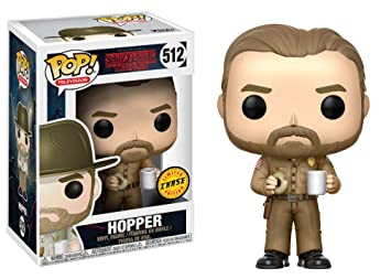 Funko Pop Stranger Things Jim Hopper CHASE Variant Vinyl ...