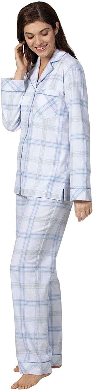 Plaid Addison Meadow Flannel Pajamas Women Boyfriend Women Flannel Pajamas