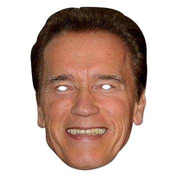 Arnold Schwarznegger berühmtheit Single Karte Partei Gesichtsmasken ...