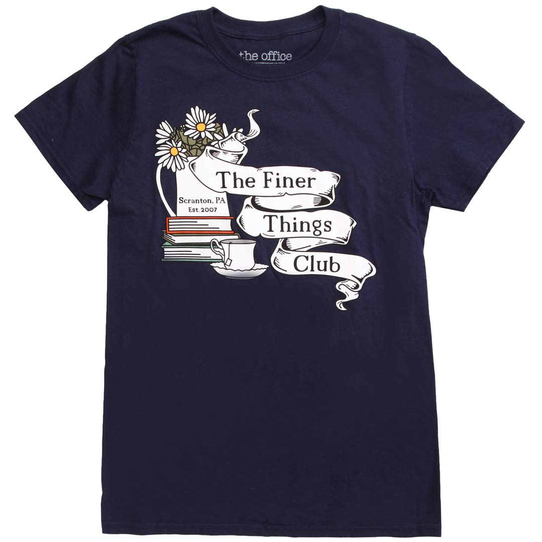 Ripple Junction The Office Finer Things Club Adult T-Shirt